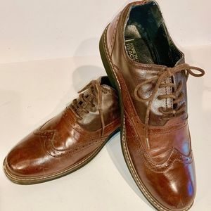 Two tone brown Kenneth Coles